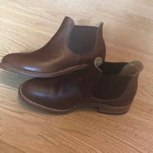 Red Wing brown leather ankle boots sz 7